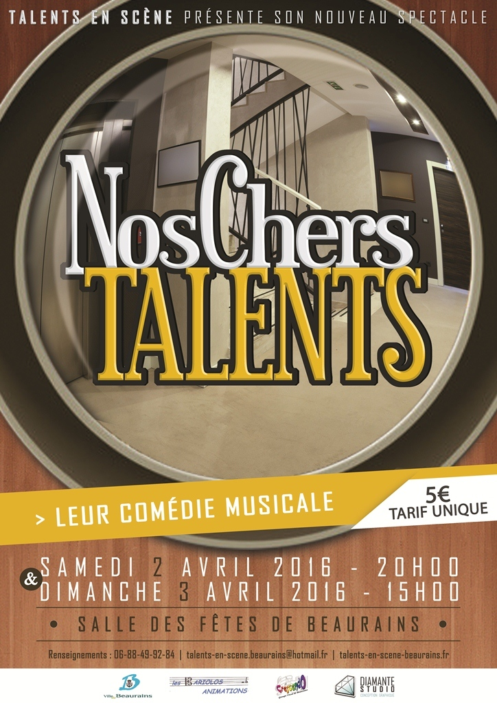 Spectacle 2 et 3 avril 2016 - NOS CHERS TALENTS