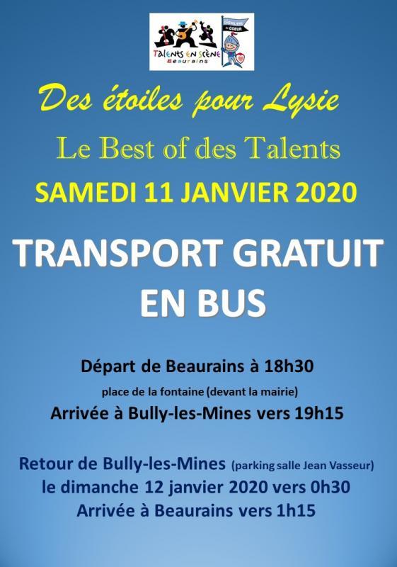 Affiche bus