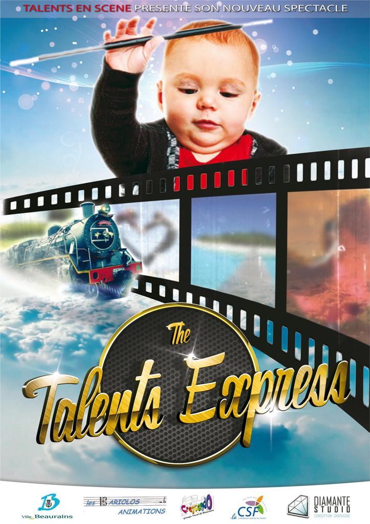 Affiche talent express